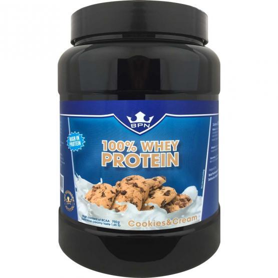 100 % Whey Protein Cookies & Cream