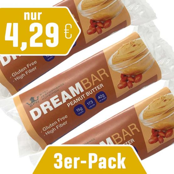 3er-Pack Dreambar Peanut Butter