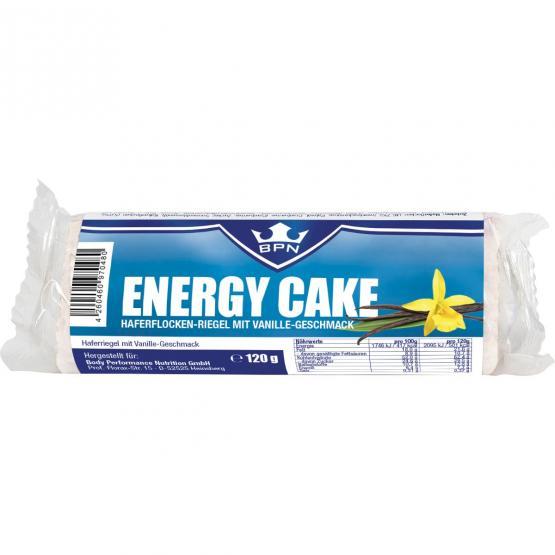 Energy Cake Bourbon Vanille