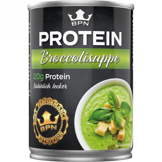 NEU –Protein Broccolisuppe