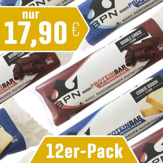12er-Pack Protein-Riegel