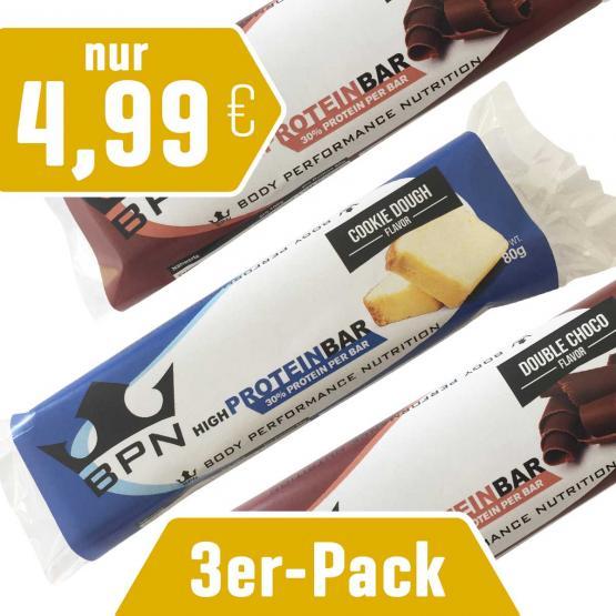 3er-Pack Protein-Riegel